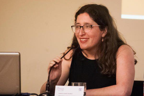 Profesora UV Daniela Marzi